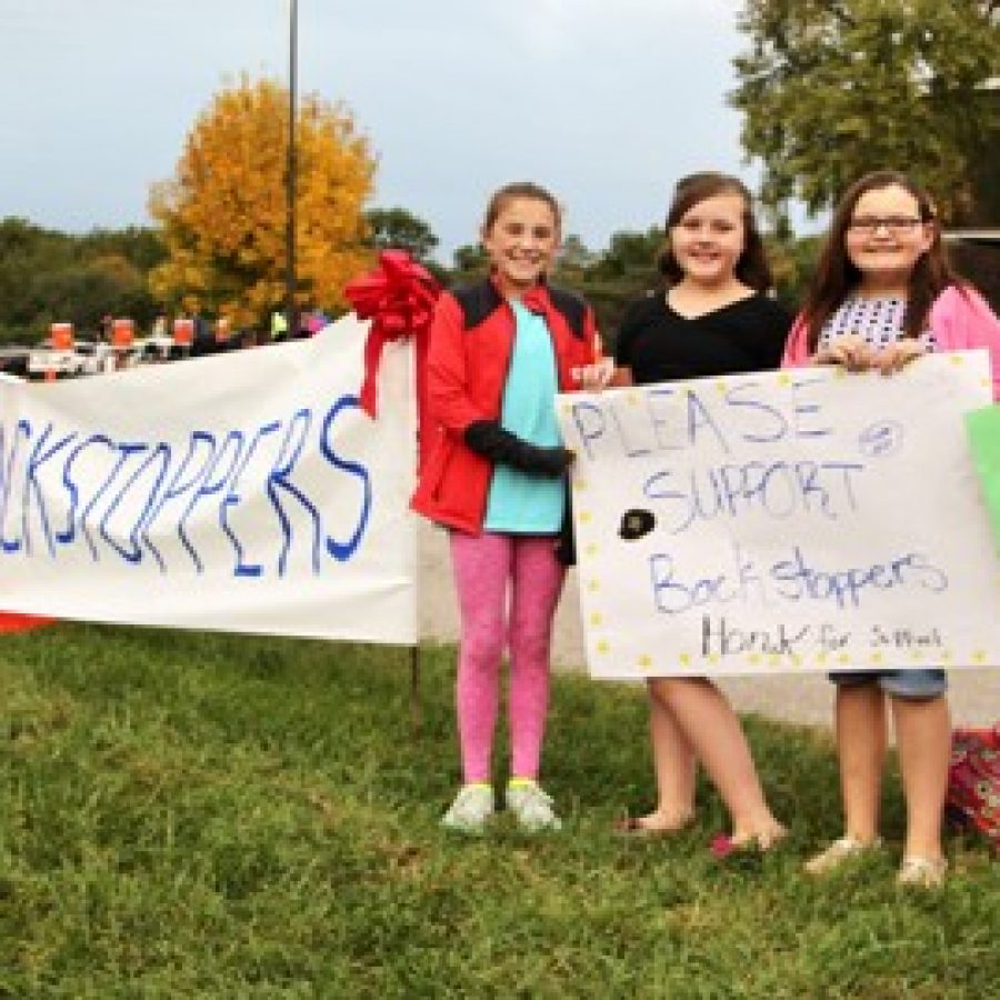 Sappington fifth-graders collect over $20,000 for BackStoppers