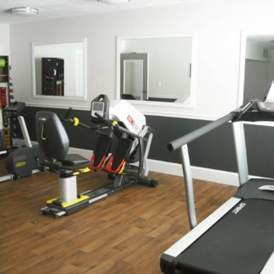 Tesson Heights Senior Living recently opened the Ruby Litzinger Open Gym, a state-of-the-art exercise area.