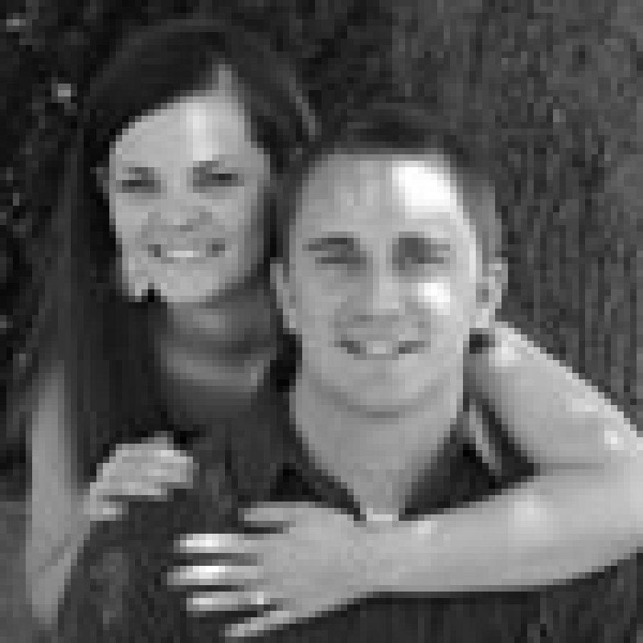 Allison Braun and Tyler Schrader