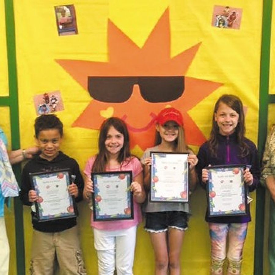 Terrific Kids of the Month honored at Wohlwend Elementary