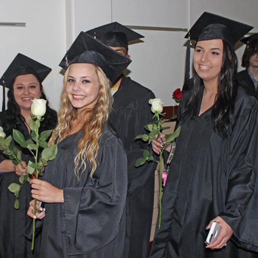 SCOPE graduates at the May 12 graduation ceremony.