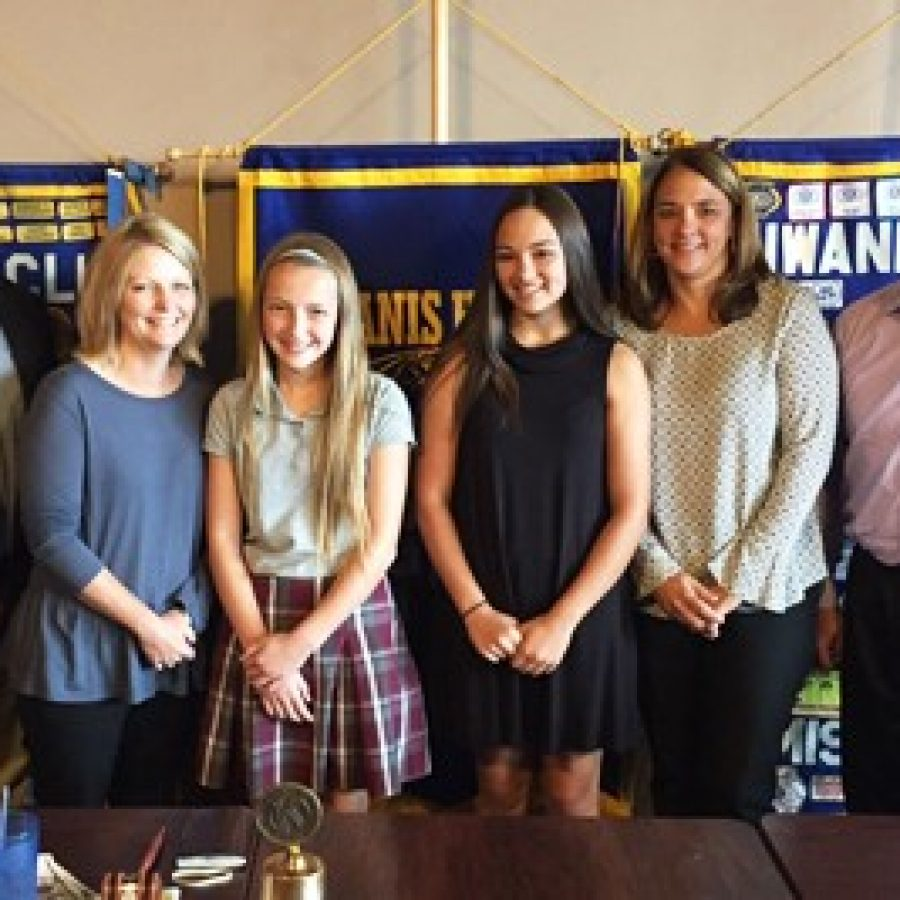 Kiwanis Club of South County honors Outstanding Students in Oakville
