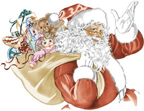 Mehlville School District students can't wait to see Santa Claus