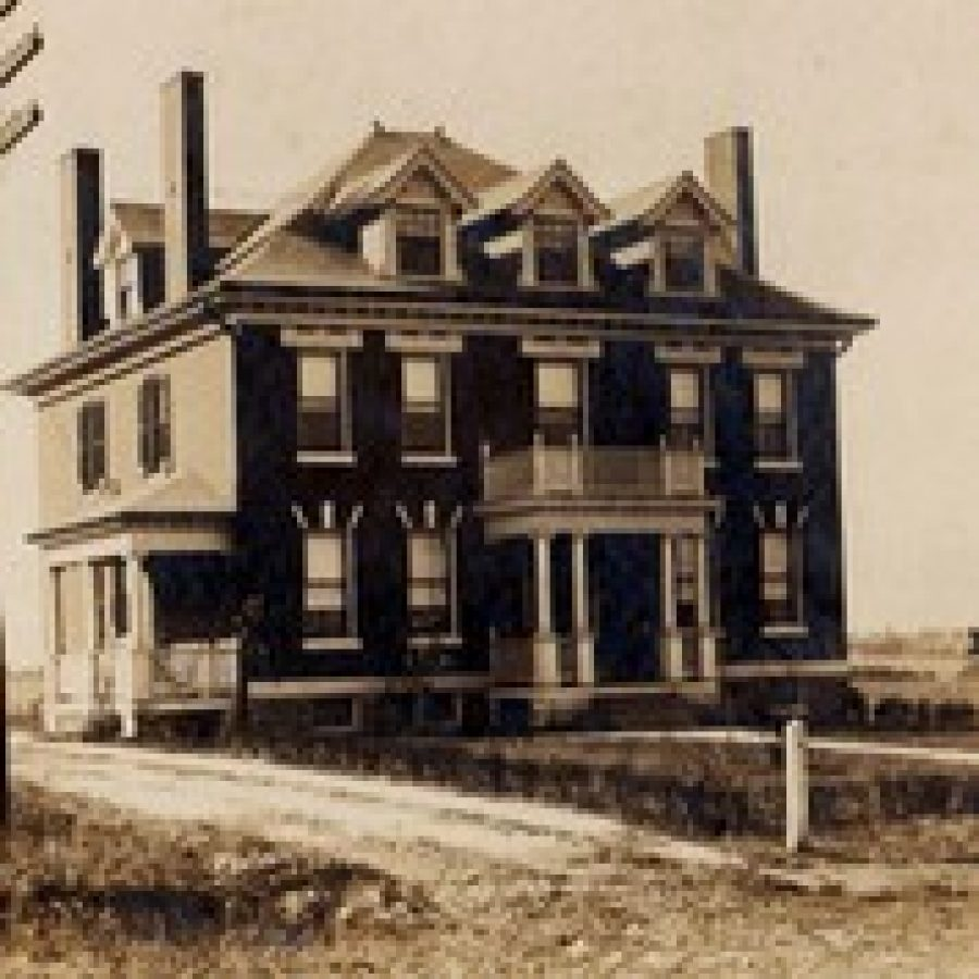 Constructed in 1907, the August Kassebaum House began its journey as a Georgian Revival-style brick home. The house is next to the Kassebaum building, and both would likely be demolished to make way for a new QuikTrip proposed at Lemay Ferry and Butler Hill roads.
