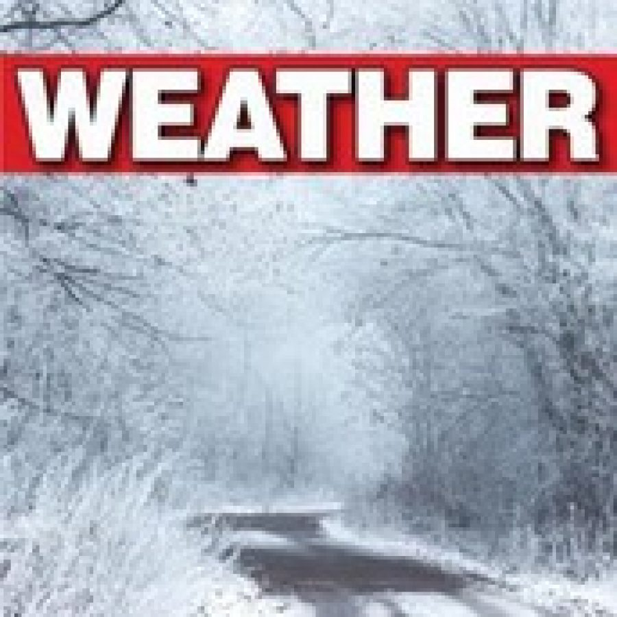 UPDATED: Ice storm expected to hit south county Friday through Sunday; school canceled
