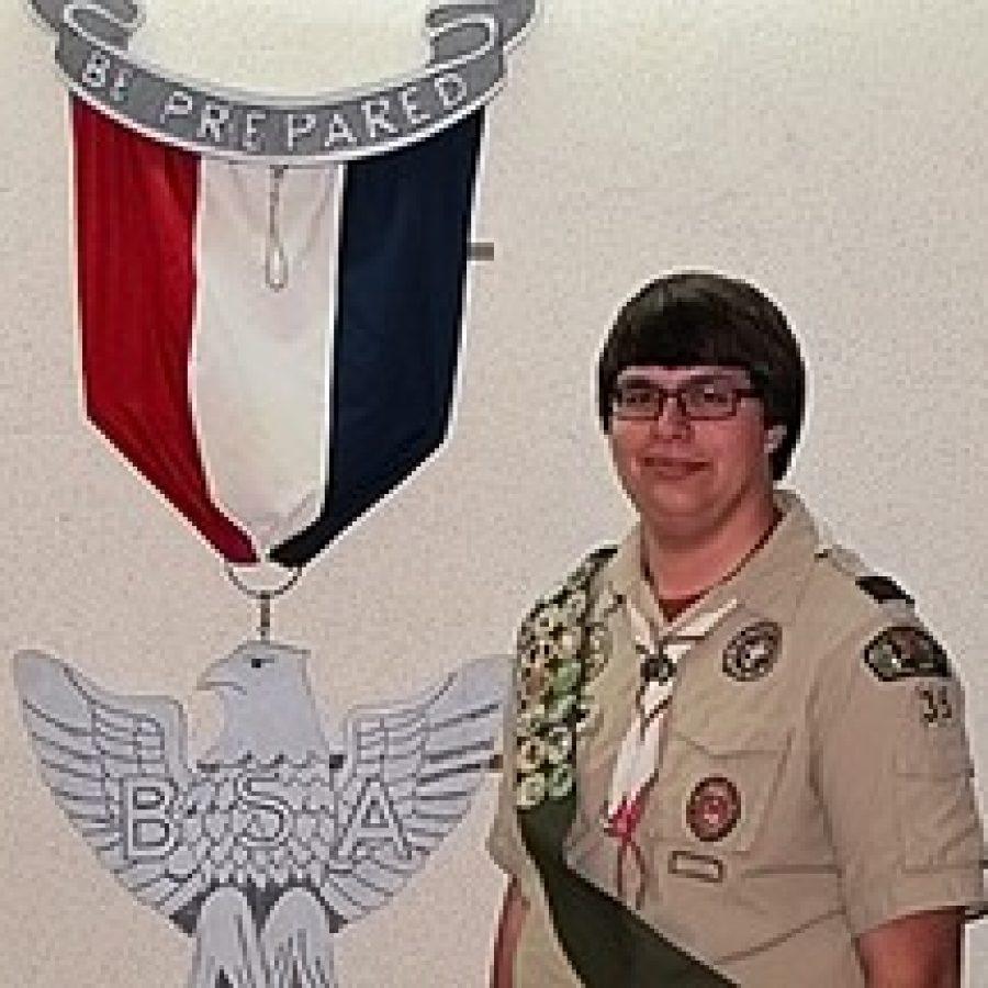 Troop 35 Boy Scout earns Eagle rank