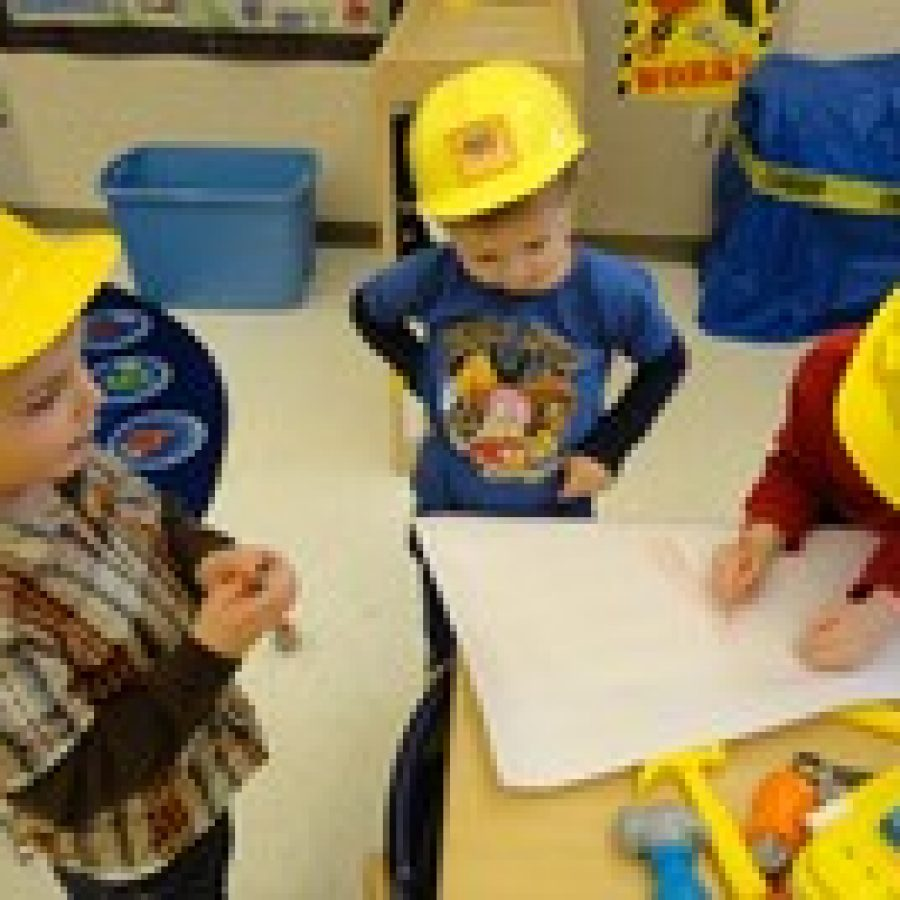 Lindbergh ECE students learn about community helpers