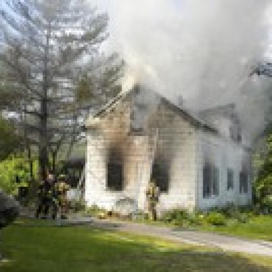 MFPD responds to house fire on Butler Hill Road