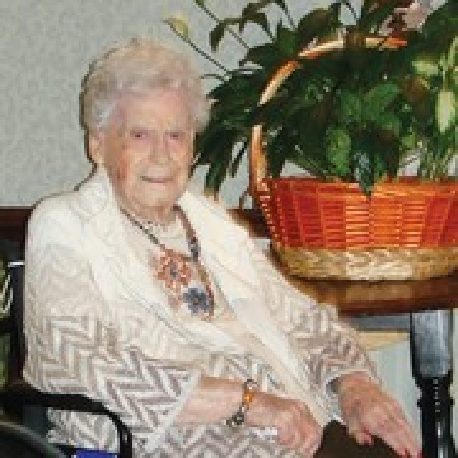 Florence Biesemeyer is celebrating her 100th birthday today, Nov. 7.