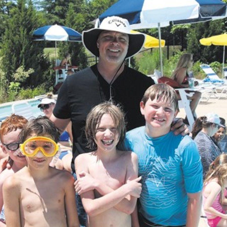 Principals at the Pool event makes a splash
