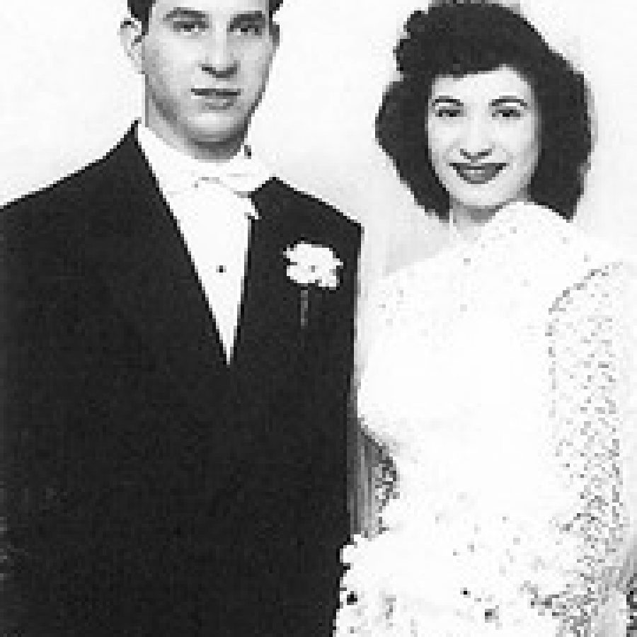 Vincent and Rosemary Scaglione in 1950