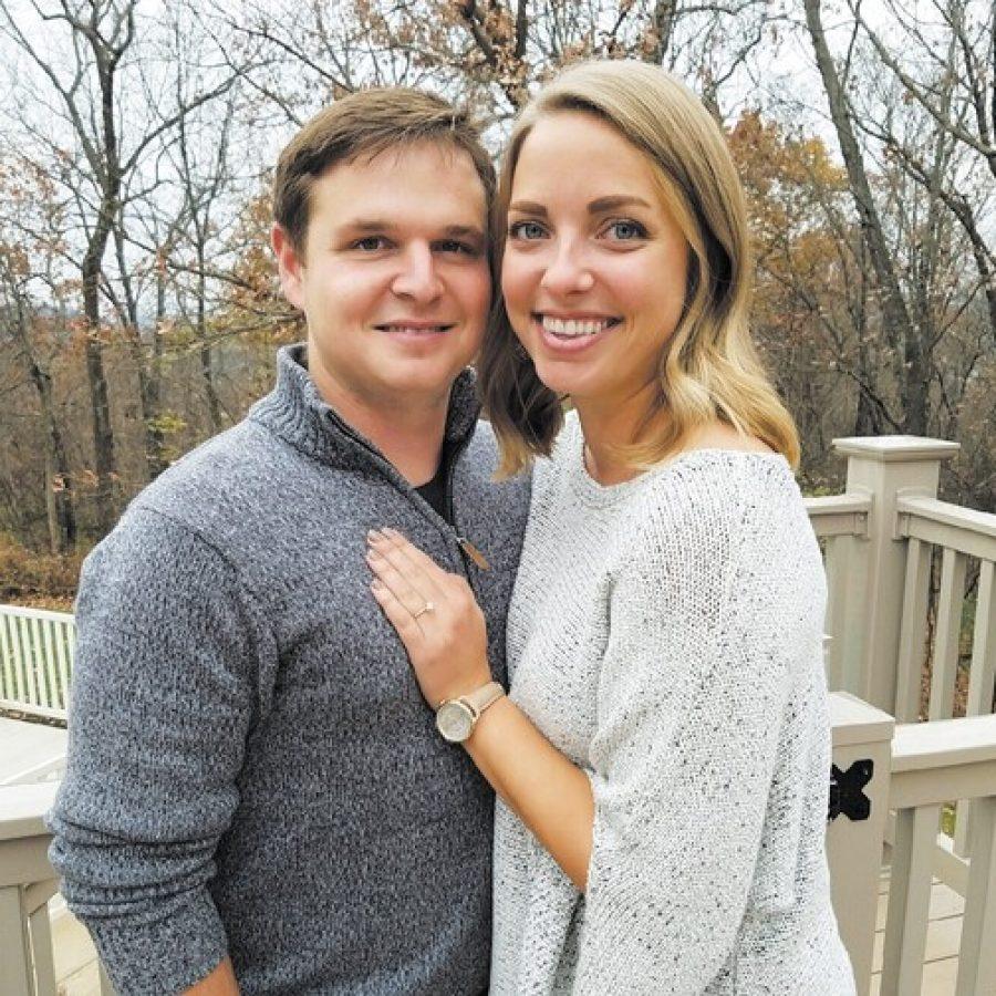Alex Johnson and Michelle Essmyer