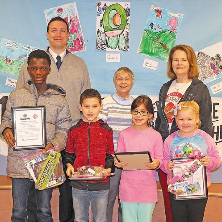 Terrific Kids of the Month recognized at Oakville Elementary