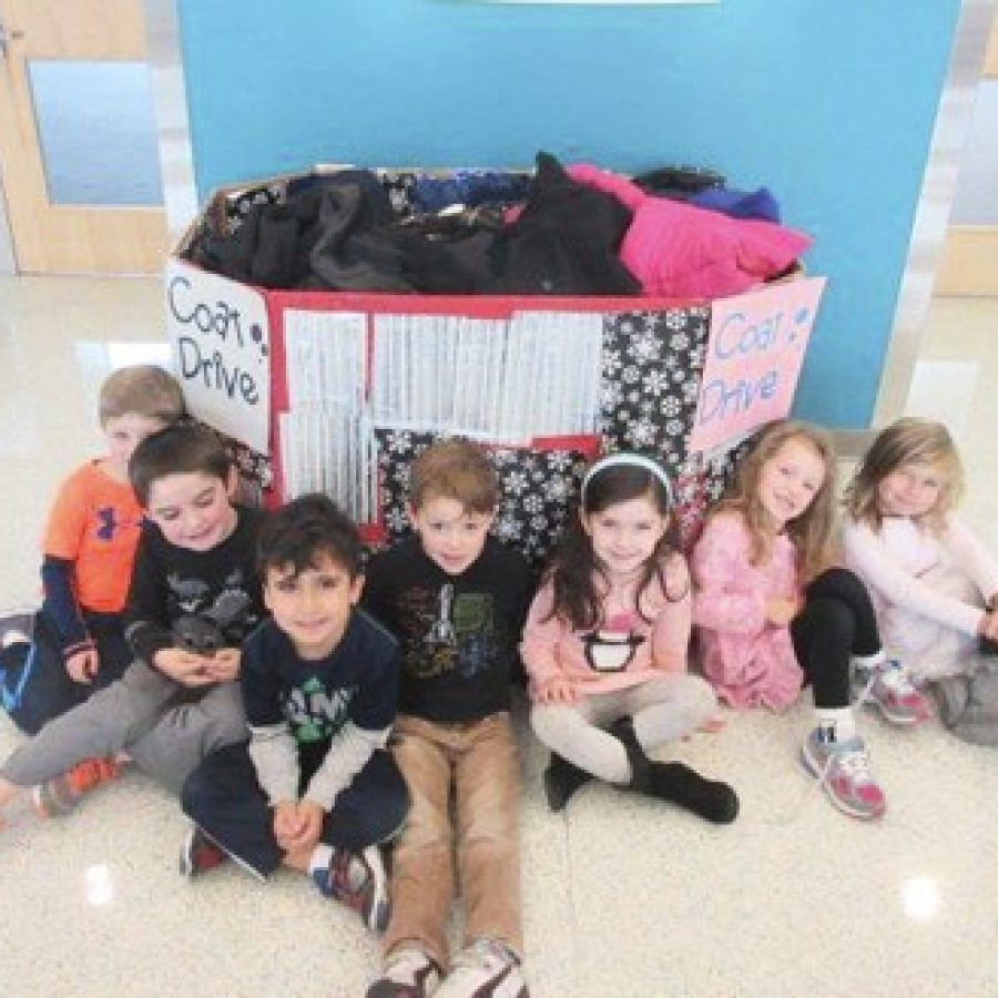 Early Childhood Flyers give coats, warm hearts