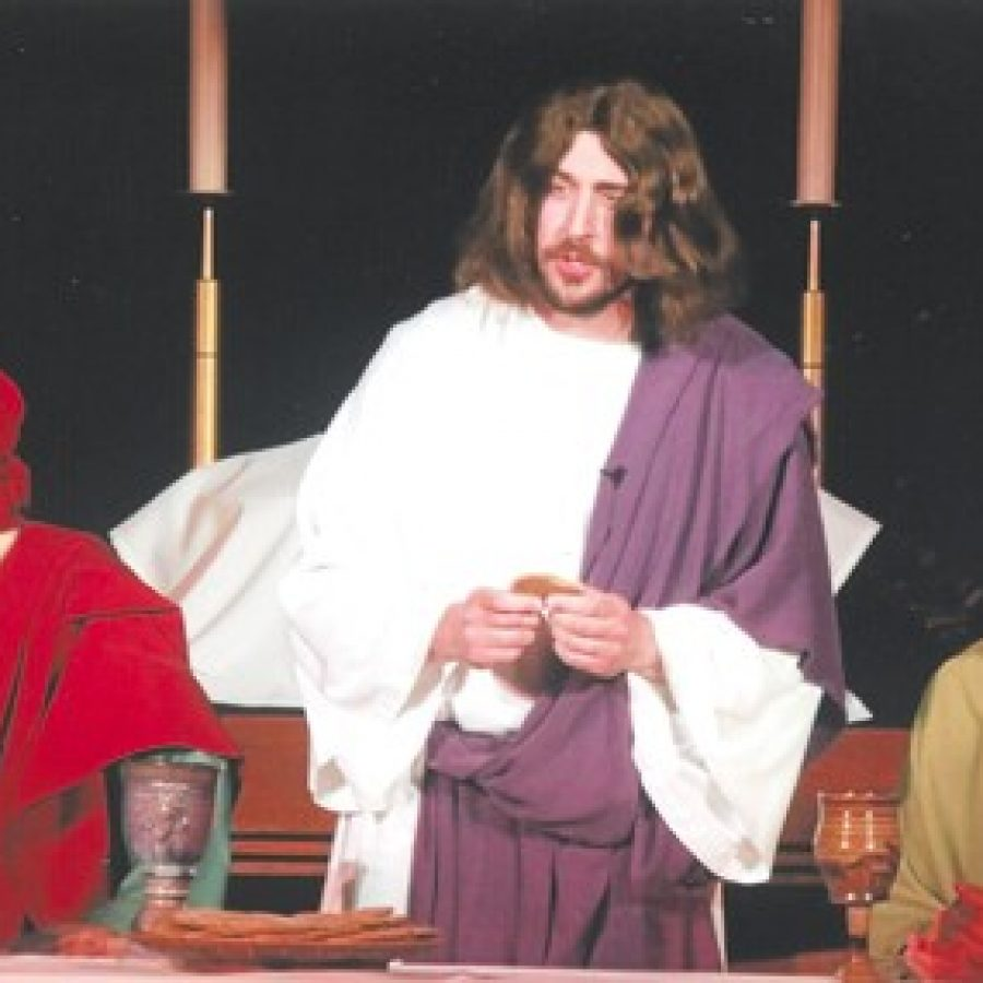 Peace Lutheran Church will offer its 25th annual presentation of 'The Living Last Supper' at 7 p.m. April 13 — Maundy Thursday.