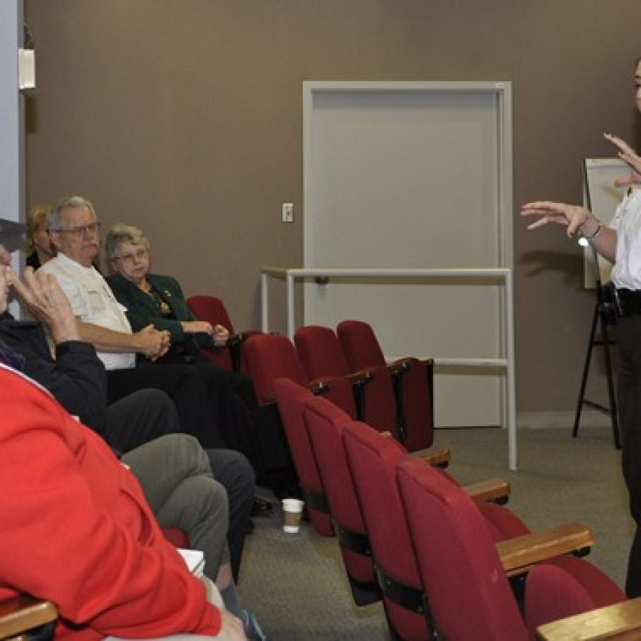 Webb hosts first 'Coffee With the Commander'