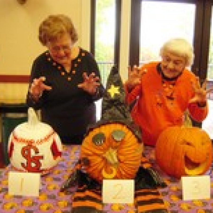 Friendship Village Sunset Hills residents celebrate Halloween