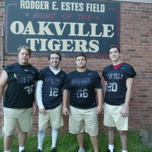 Oakville High football team hoping  to score victories in 'golden' 2018