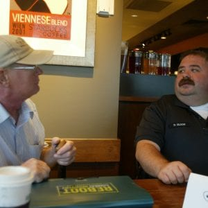 Crestwood holds 'Coffee with a Cop'