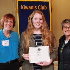 Kiwanis Club honors Lindbergh student as Student of the Month