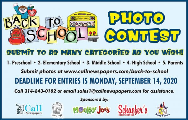 Last chance! Enter St. Louis Call's Back-to-School Photo Contest, win prize packages