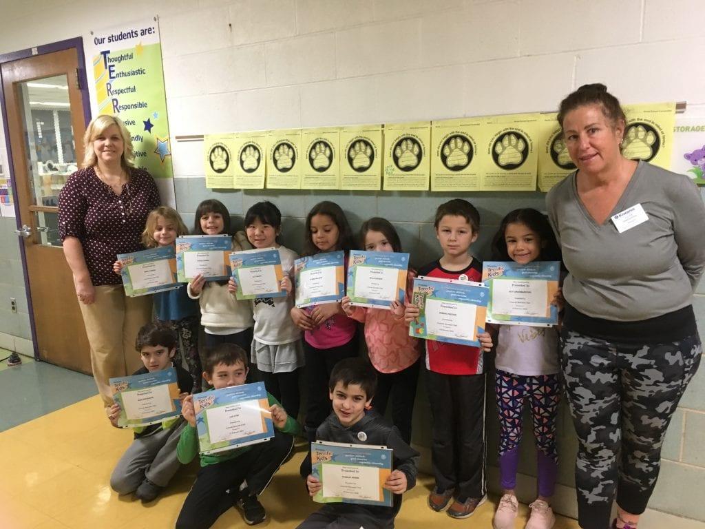 Gravois+Kiwanis+Club+honors+Terrific+Kids+at+Mesnier+Primary