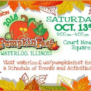 Waterloo's annual Pumpkinfest Saturday will feature more than 100 vendors