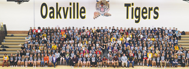 Oakville+HIgh+School+Class+of+2020+official+class+photo