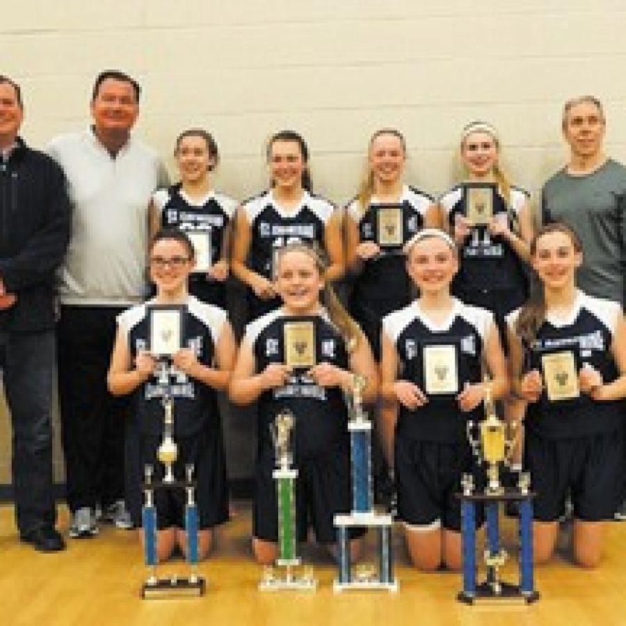 St. Catherine girls capture championship