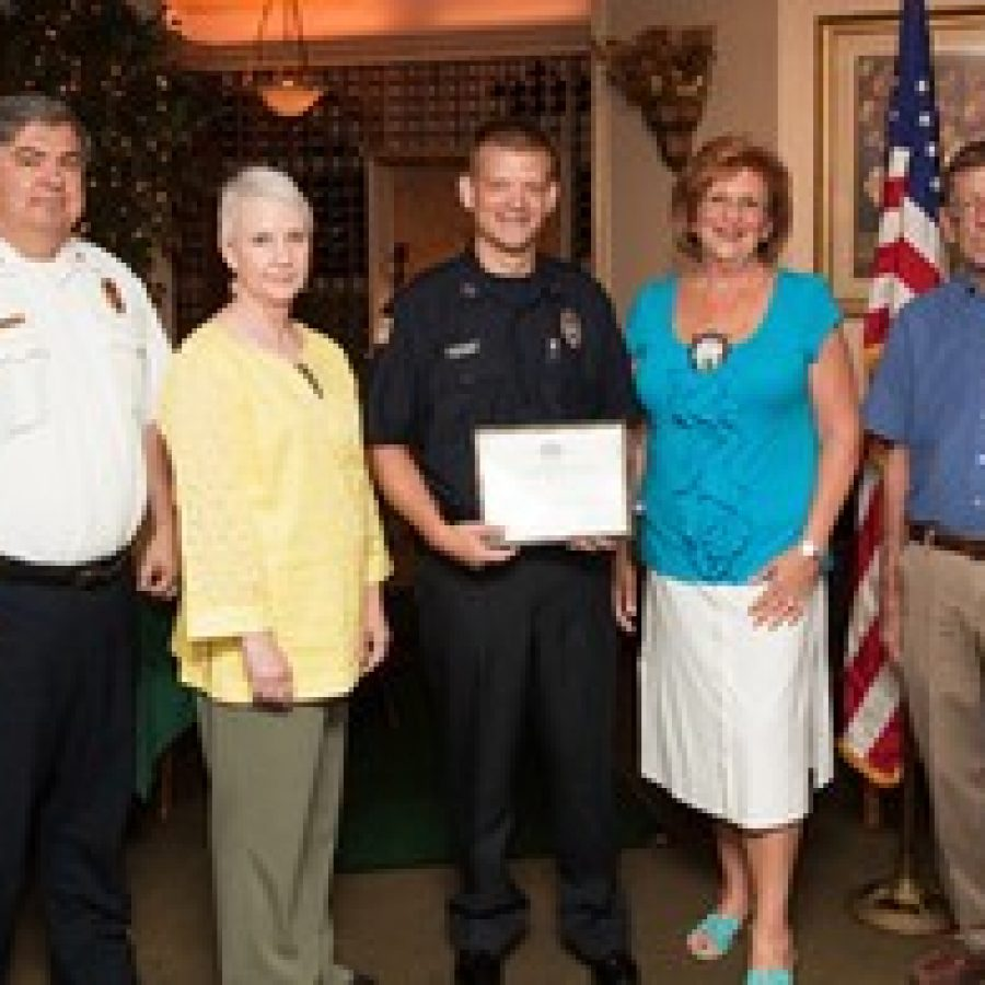 Affton firefighter/paramedic honored