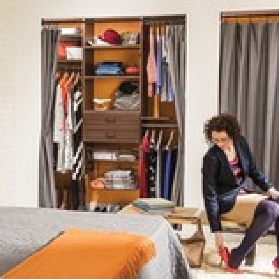 A well-organized closet space offers several benefits. Being able to find the items youre looking for can mean less stress and more time to enjoy with family and friends.