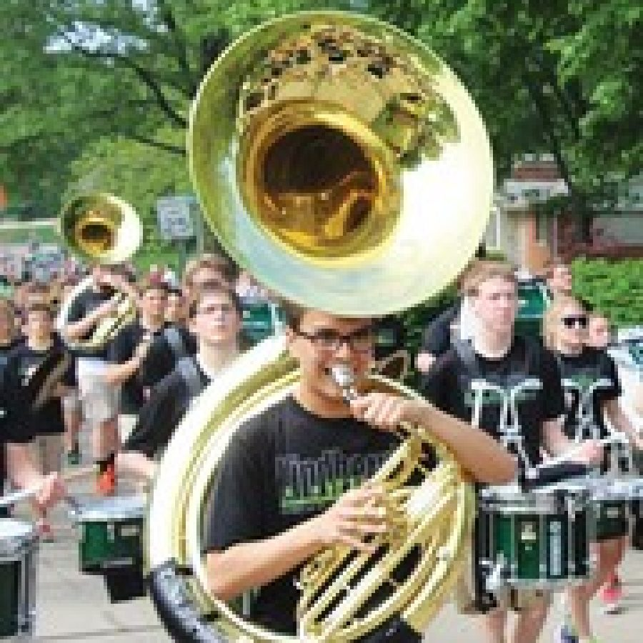 Lindbergh Schools residents will be able to celebrate the 'Spirit of Tradition' during the 23rd annual Lindbergh Spirit Festival on Saturday, May 17. In this photo from last year's event, the Lindbergh High School Marching Band is pictured in the parade that kicks off the annual event.