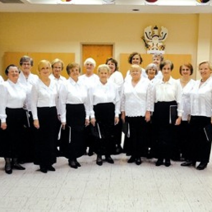 The 18-voice Frauenchor — Ladies Chorus — of the St. Louis German Cultural Society will perform Sunday at the German Christmas Vesper Service at Peace Lutheran Church.
