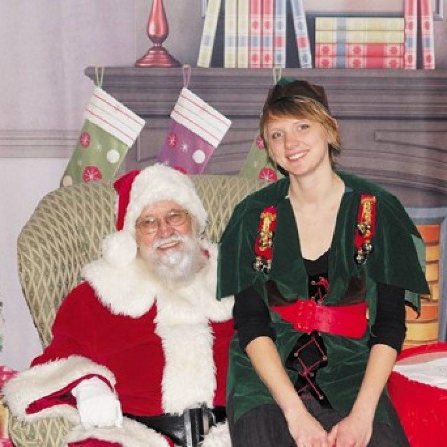 Santa visits Crestwood again.