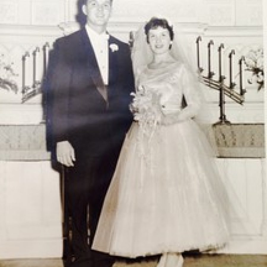 Robert and Elizabeth Ackermann, 60 years ago