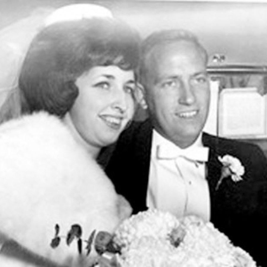Carol and David Witt, 50 years ago