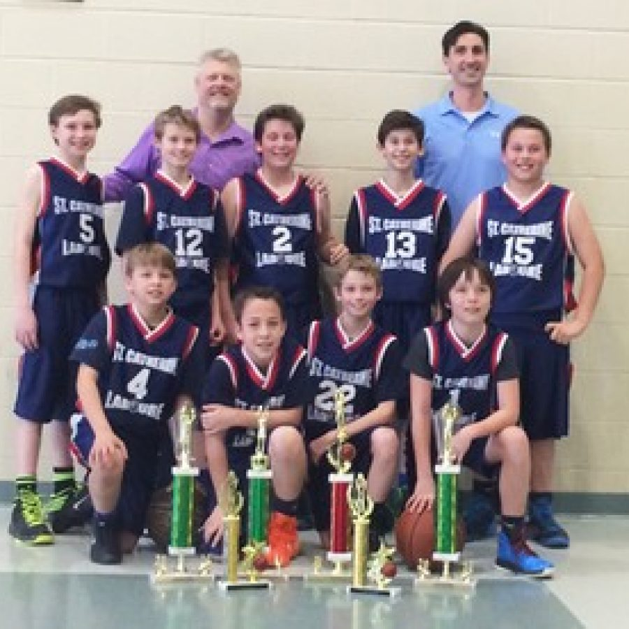 St. Catherine Laboure boys win title