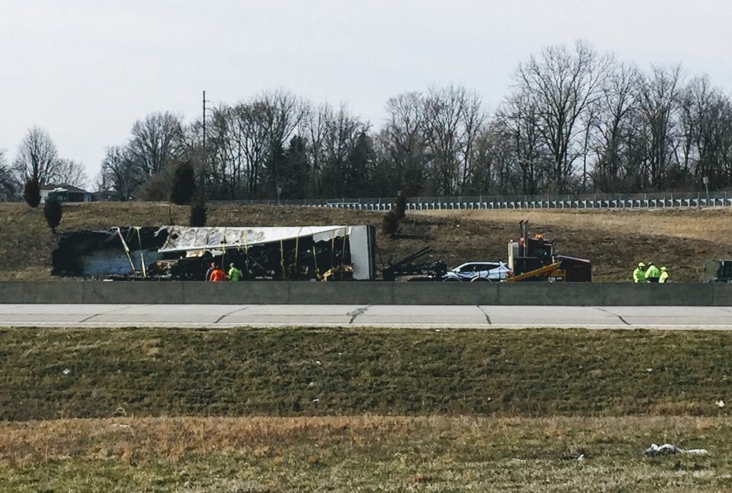 UPDATED%3A+Interstate+255+reopens+after+fiery+semi+crash