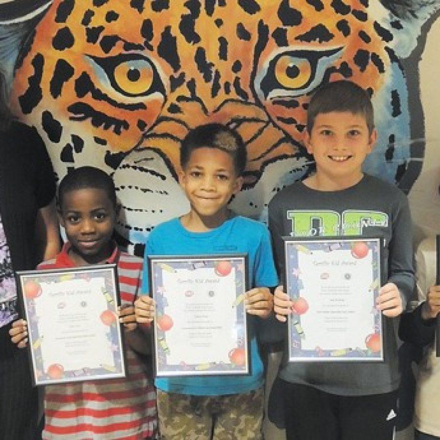 Terrific Kids honored at Beasley