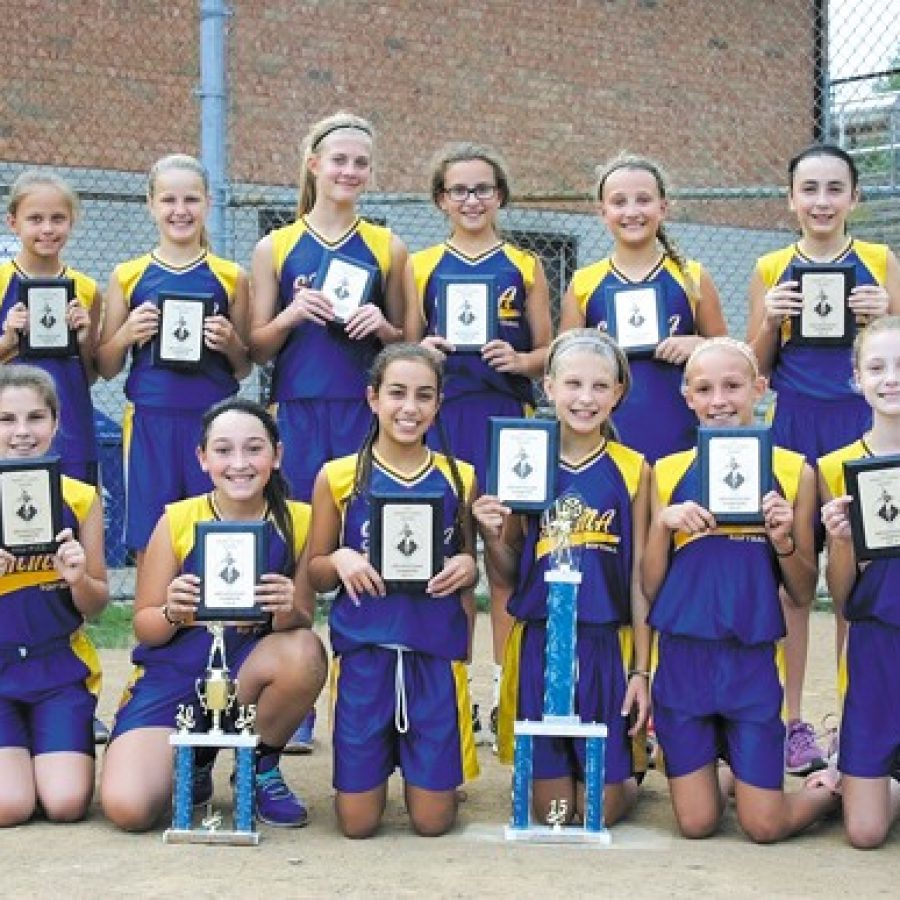 SMMA girls capture softball title