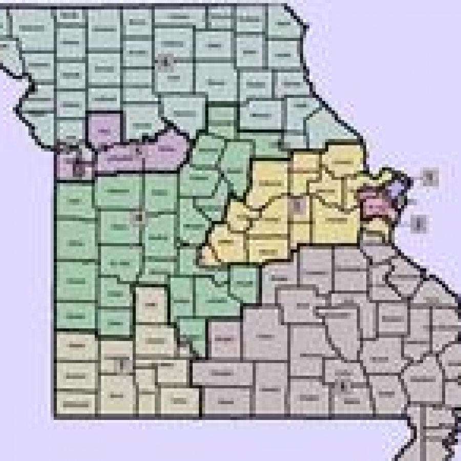 Statewide map of the Legislature's congressional redistricting plan