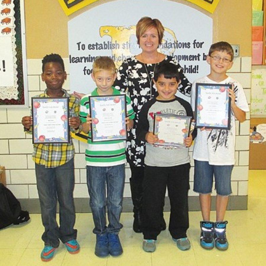 Terrific Kids honored at Bierbaum