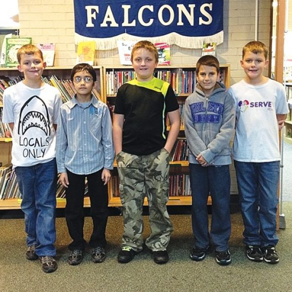 Terrific Kids honored at Forder Elementary