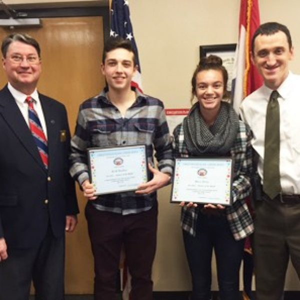 Lindbergh seniors named Students of the Month