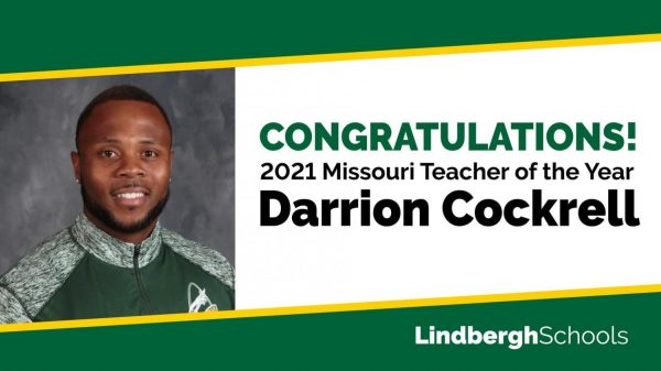 Darrion Cockrell is the 2021 Missouri Teacher of the Year
