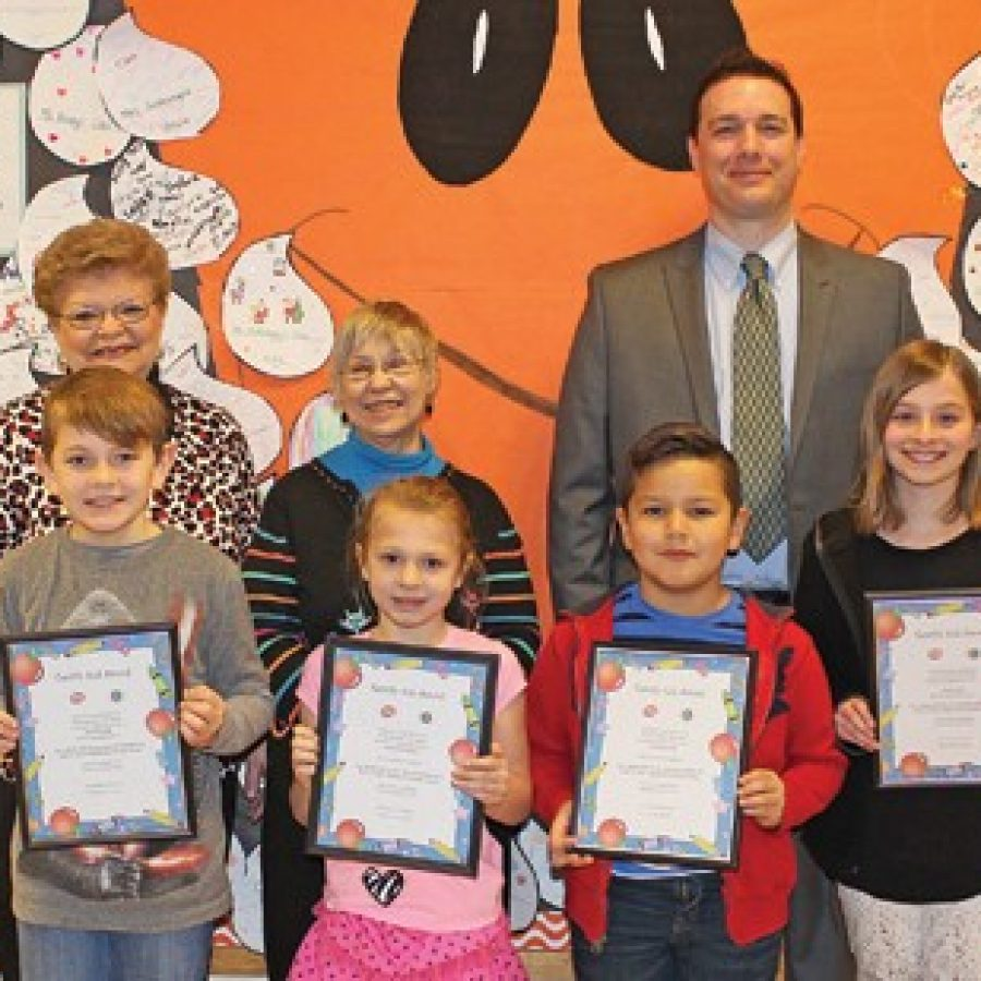 Terrific Kids of the Month honored at Oakville Elementary