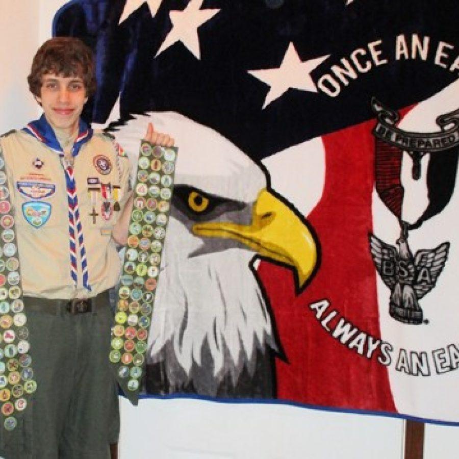 Troop 661 member earns 111 merit badges