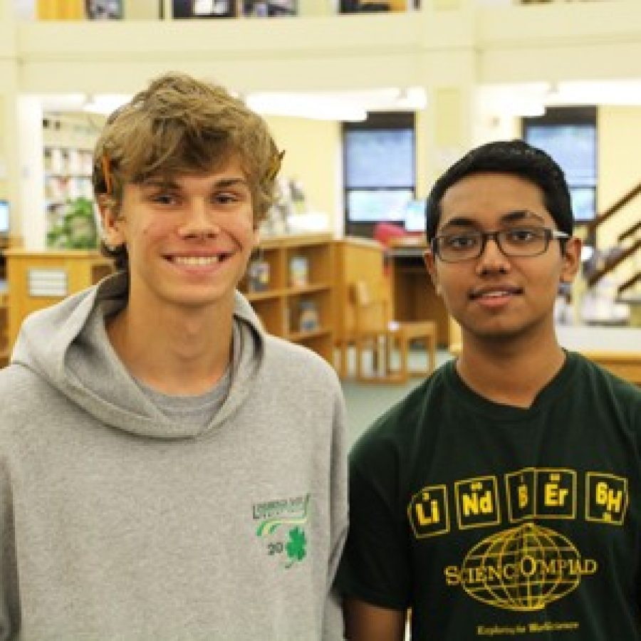 Lindbergh High School seniors Will Goetz and Rounak Bera have scored a perfect 36 on their ACT tests. For Rounak, it was the second time he earned the highest possible score on the ACT test.