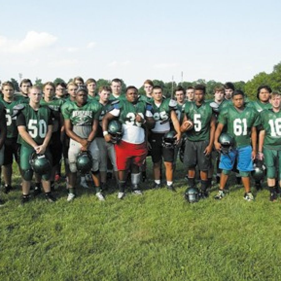 Mehlville High football head coach Kent Heinemann says his core group of players is healthy and looking good for the 2016 season. Bill Milligan photo