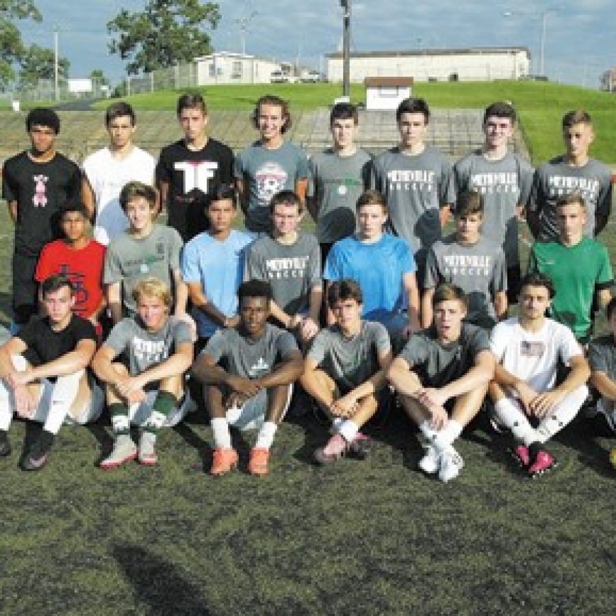 Mehlville High's head boys' soccer coach Tom Harper says his 2016 squad is 'an intelligent group' that knows 'how to problem solve for themselves on the field and amongst each other.' Bill Milligan photo